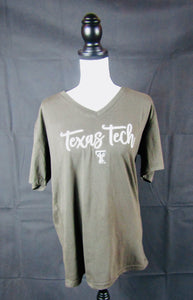 Texas Tech Black V Neck