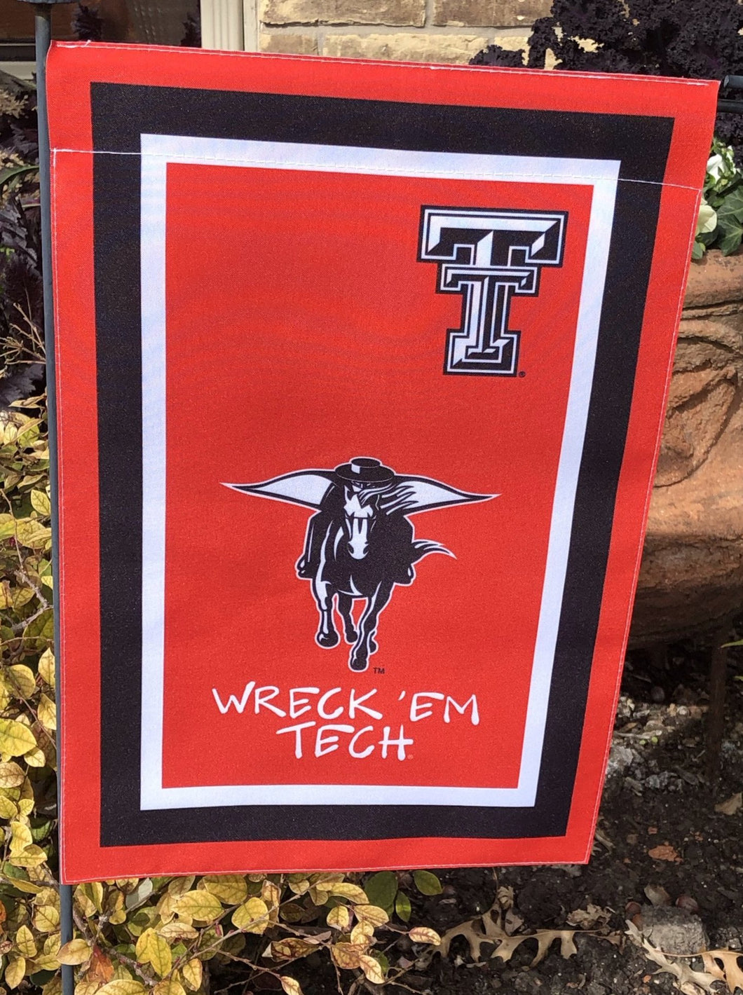 Texas Tech  Mascot Garden Flag