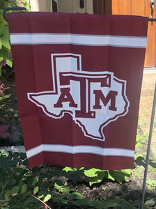 Texas A&M Garden Flag
