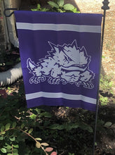 Load image into Gallery viewer, TCU Garden Flag