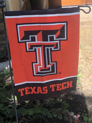 Texas Tech Garden Flag