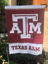 Load image into Gallery viewer, Texas A&M Garden Flag