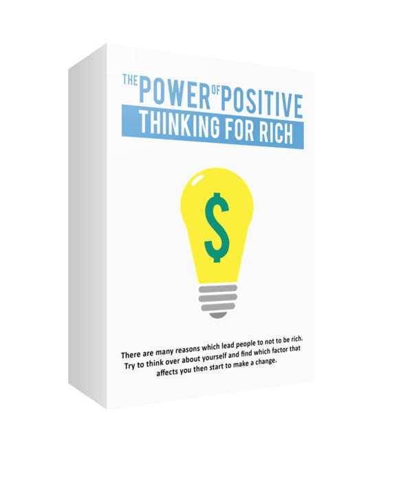 The Power of Positive Thinking For Rich