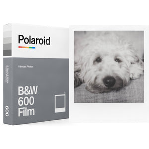 Polaroid B&W Film Pack for Polaroid 600 Series Cameras