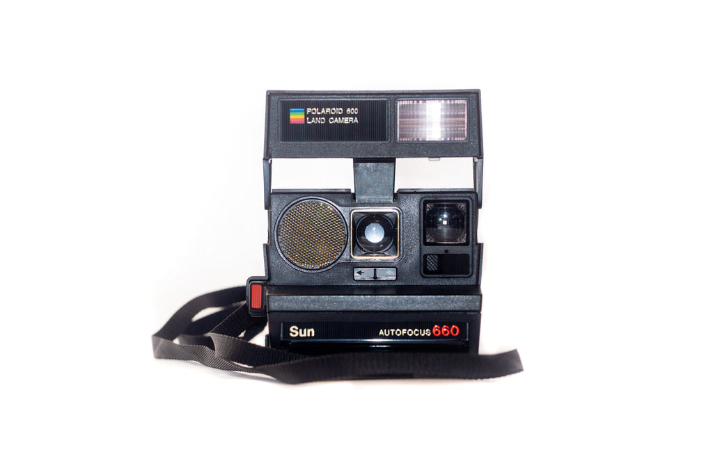 Polaroid Sun 660 Auto Focus Flash Up