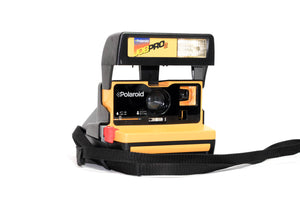 Polaroid Job Pro 2 - Yellow Polaroid Camera - Refurbished