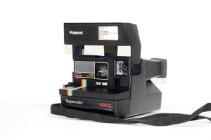 Rainbow Polaroid Flash