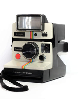 Polaroid SX-70 with Flash