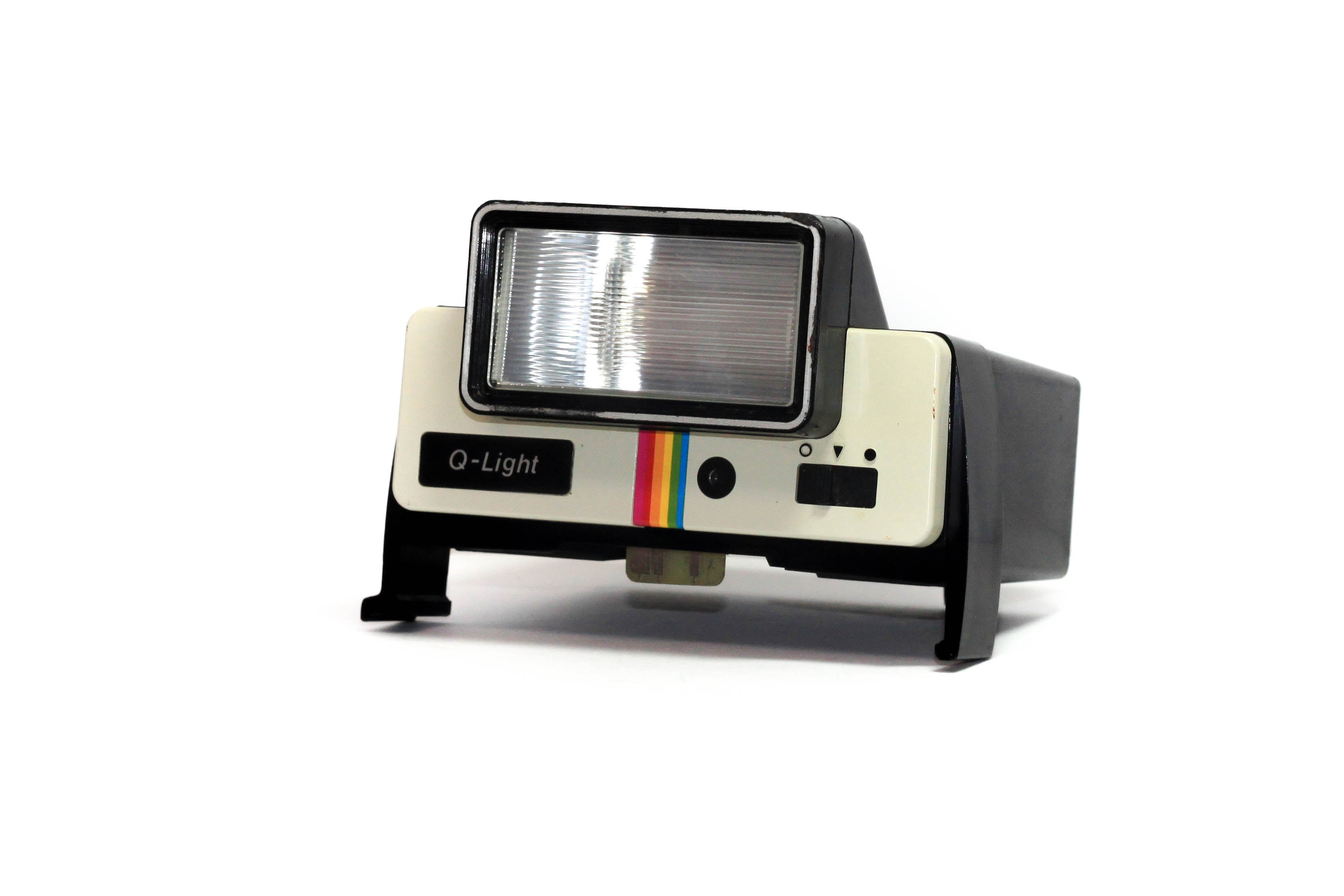 Vintage Polaroid Q-Light Flash for Polaroid One Step