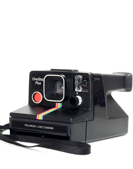 Black Polaroid SX-70 Camera