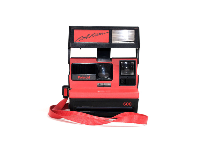Red Polaroid Cool Cam 600