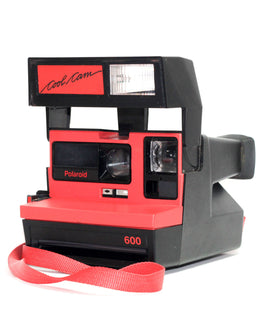 Red Polaroid Cool Cam 600 - Refurbished