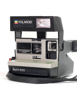 Polaroid Spirit LMS - Silver Polaroid 600 Camera - Refurbished