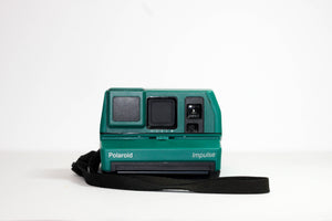 Green Polaroid Impulse 600 - Refurbished
