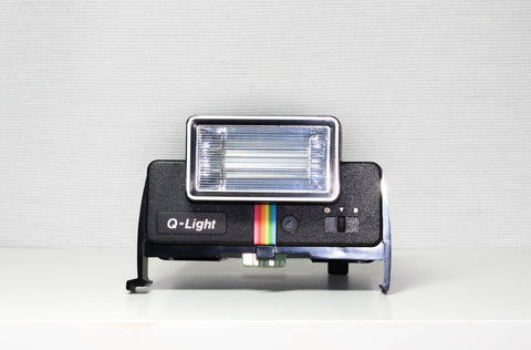 Black Polaroid Q-Light Flash for Polaroid One Step SX-70