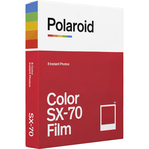 Polaroid Color Film Pack for Polaroid SX-70 One Step Cameras