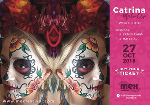 1 x Professional Catrina Makeup Class - 12:30pm session