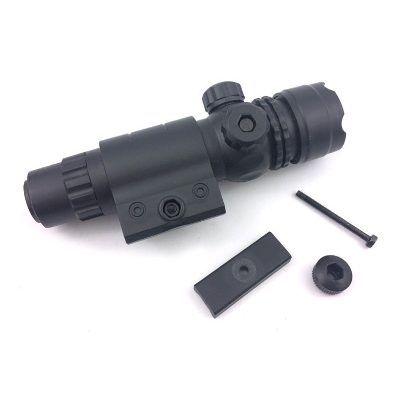 Adjustable Infrared Crosshair Scope 22mm Rail Attachable