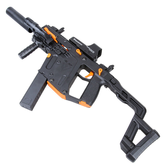 LH Toy Gun Kriss Vector V2 (2nd Gen) Mag Fed 7mm Gel Ball Blaster