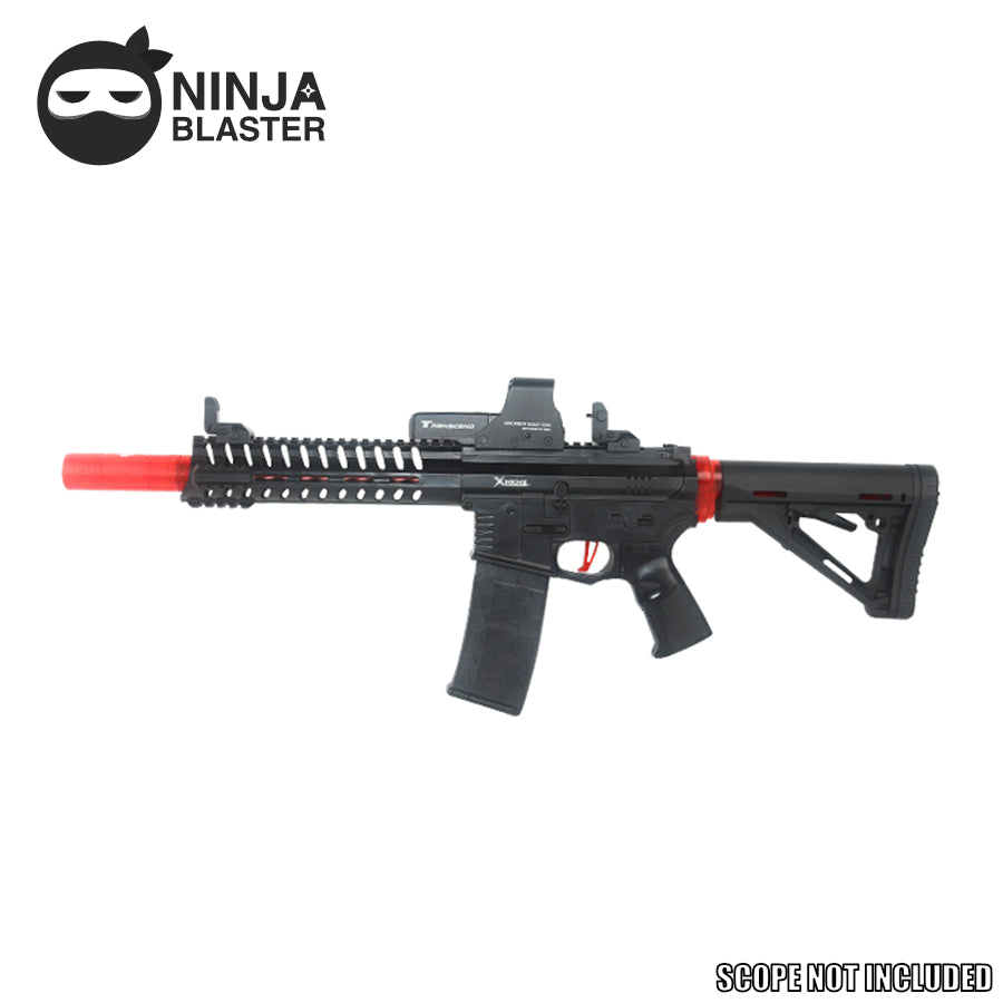 Toy Gun MKM2 AR-15 Competition Version Magazine Fed 7mm Gel Ball Blaster