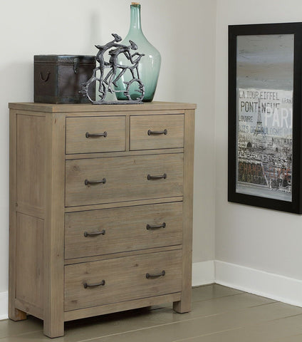 Shop Hillsdale Hudson (Highlands) Driftwood Drawer Chest at Mealey's Furniture