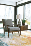 Zardoni Charcoal Accent Chair