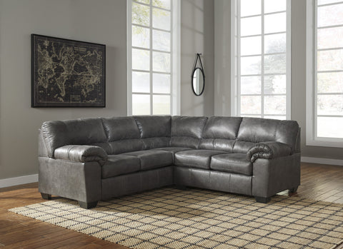 Shop Ashley Furniture Bladen Slate 2 Piece Sectional at Mealey's Furniture