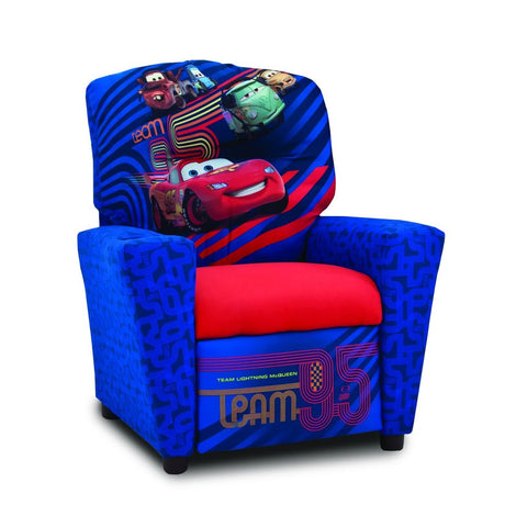 Shop Kidz World Disney Cars Kid Recliner at Mealey's Furniture