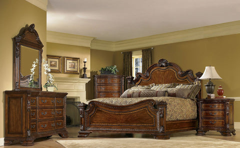 Shop A.R.T. Furniture Old World King Bed at Mealey's Furniture