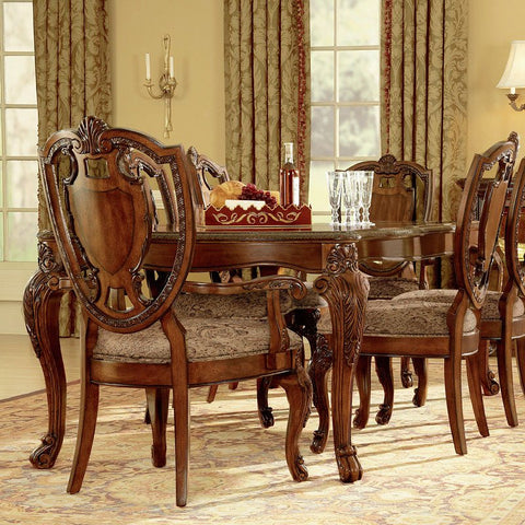 Old World Table & 4 Side Chairs