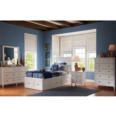 Shop Mealey's Spencer Junior White Dresser And Mirror at Mealey's Furniture