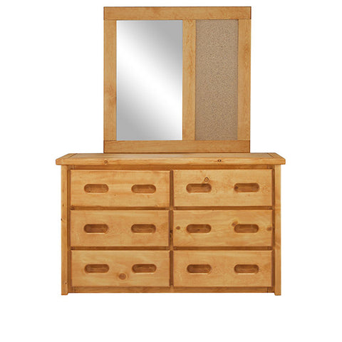 Shop Trendwood Bunkhouse Dresser And Mirror at Mealey's Furniture