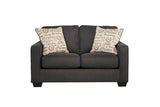Aleyna Charcoal Loveseat