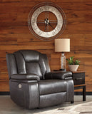 Garristown PWR Recliner/ADJ Headrest