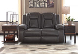 Garristown PWR REC Loveseat/ADJ Headrest