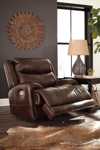 Blairstown PWR Recliner/ADJ Headrest