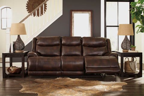 Astounding Blairstown Pwr Rec Sofa With Adj Headrest Mealeys Furniture Creativecarmelina Interior Chair Design Creativecarmelinacom