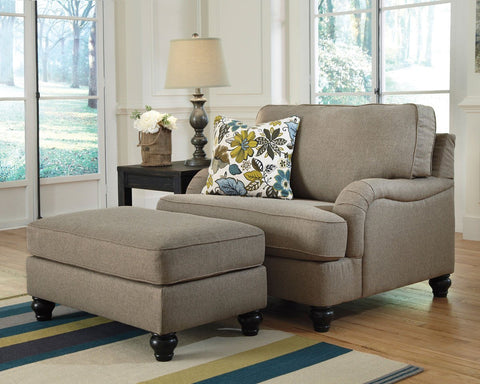 Shop Ashley Furniture Chamberly Alloy Oversized Accent Ottoman at Mealey's Furniture