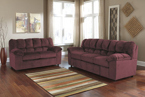 Shop Ashley Furniture Julson Cafe Sofa & Loveseat at Mealey's Furniture