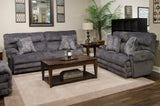 Shop Catnapper Garrison Pewter Power Reclining Sofa at Mealey's Furniture