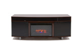 Ovation Cherry Fireplace with Logs