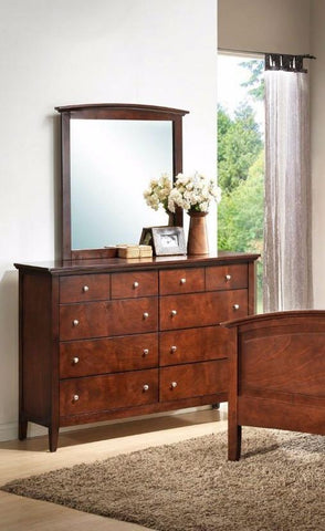Shop Lifestyle Abbott Warm Whiskey Dresser and Mirror at Mealey's Furniture