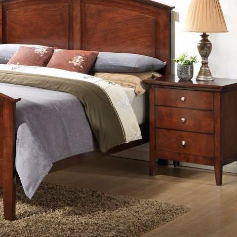 Shop Lifestyle Abbott Warm Whiskey Nightstand at Mealey's Furniture