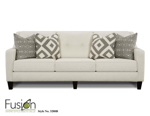 Shop Fusion Sugarshack Glacier Sofa at Mealey's Furniture