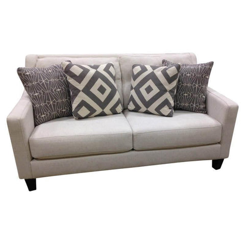 Shop Fusion Sugarshack Glacier Loveseat at Mealey's Furniture