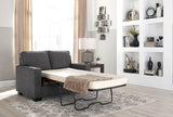 Zeb Charcoal Twin Sofa Sleeper