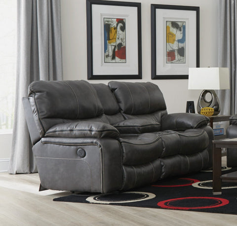 Shop Catnapper Camden Steel Reclining Loveseat at Mealey's Furniture
