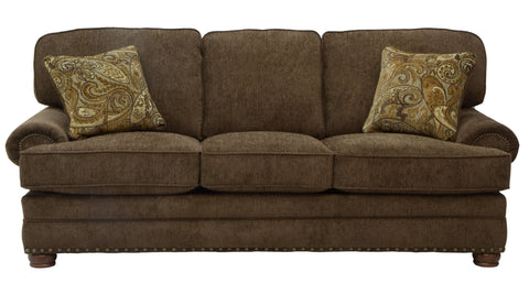 Shop Jackson Carriage House Espresso Sofa at Mealey's Furniture