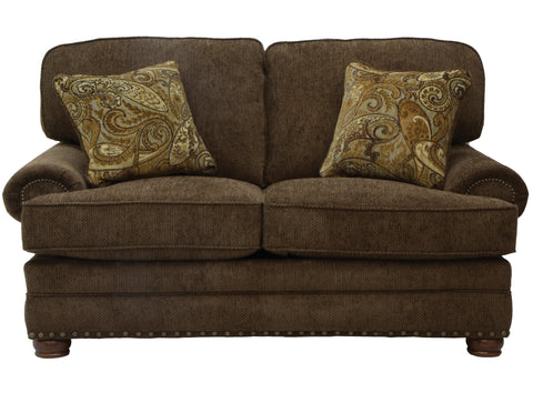 Shop Jackson Carriage House Espresso Loveseat at Mealey's Furniture