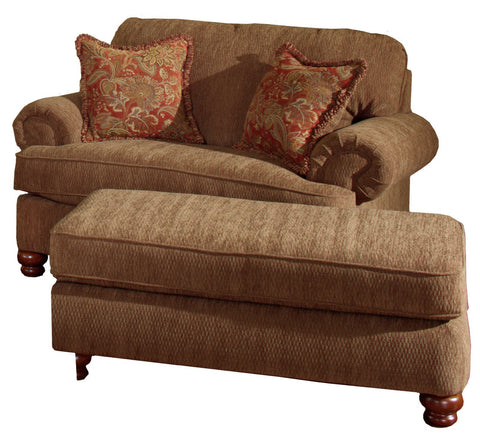 Shop Jackson Belmont Umber Ottoman at Mealey's Furniture